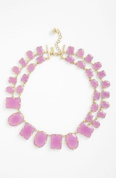 kate spade new york confetti collar necklace