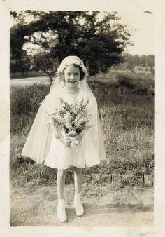 Carol's First Communion dress   Flickr - Photo Sharing!