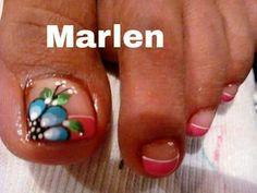 Feet Nails, Toe Nail Art, Nail Art Designs, Nail Ideas, Designed Nails, Work Nails, Fairy, Pretty Toe Nails, Ongles