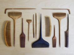 japanese wood combs