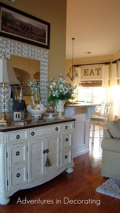 Traditional ranch style home tour in Myrtle Beach, SC - Debbiedoo's