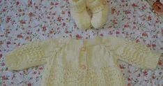 Olá! Estes casaquinhos de tamanho 0 à 2 meses tem as cavas em Ponto Fantasia. Observe também que as golinhas são bem justinhas. Iniciei as ...