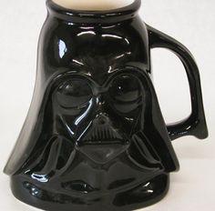 Star★Wars Darth Vader Mug by TerraBellaPottery on Etsy, $25.00