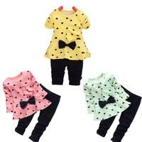 c395e971ba New Heart-Shaped Print set. Little Girl OutfitsKids ...