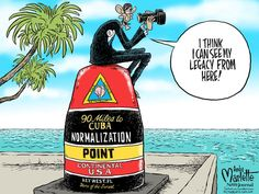 HIS LEGACY? | Dec. 18, 2014 Political Cartoon by Andy Marlette
