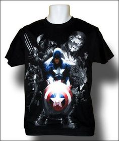 Marvel Civil War T-shirt