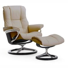 Available in Classic, Signature or LegComfort Base. Rocker Recliner Chair, Recliner With Ottoman, Living Room Chairs, Home Living Room, Lounge Chairs, Small Recliners, Mayfair, Large Chair, Stress Less