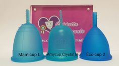 Italian high quality menstrual cups: Mamicup, Eco-cup and Amycup Crystal. World wide delivery from: https://www.coppetta-mestruale.it/coppette.php