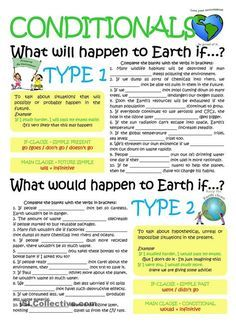 CONDITIONALS TYP1 &2 Más