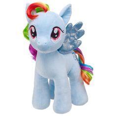 "Build-A-Bear Workshop ""My Little Pony"" Rainbow Dash plush Rainbow Dash, Rainbow Colors, My Little Pony Plush, Little Poni, Blue Wings, Build A Bear, My Little Pony Friendship, Pet Accessories, Kids Toys"