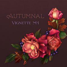 """Jaguarwoman's """"Autumnal Vignette #1"""""""