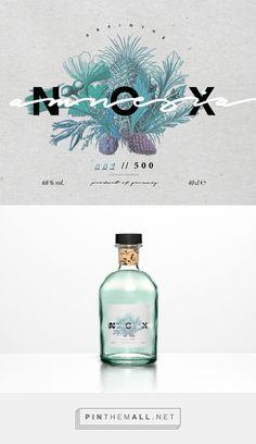 Amnesia Nox Beverage Branding and Packaging Louisa Fruengel | Fivestar Branding Agency – Design and Branding Agency & Curated Inspiration Gallery