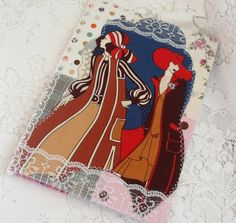 A5 fabric Journal or Sketchbook £10.00 by Handmade by Edwina