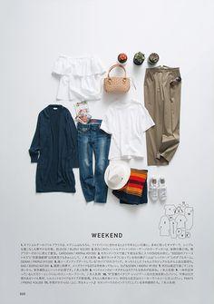 2016-03-09|CATALOG|23区 R -ONWARD- Fashion Still Life, Slow Fashion, Fashion News, Fashion Outfits, Outfit Grid, Denim Trends, Shop Front Design, Japanese Fashion, Magazine Design