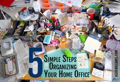 Quick tips for organizing your home office