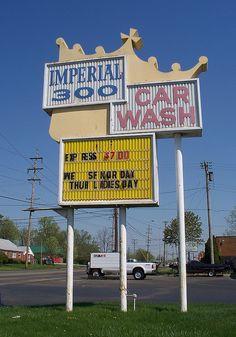 Imperial 300 Car Wash....Dayton, Ohio.