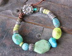 Gypsy Bracelet - Turquoise Mix