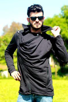 """veste noire homme tendance """"MATRIX-NEO"""" : Manteaux, blousons, vestes par tuktukshop"""