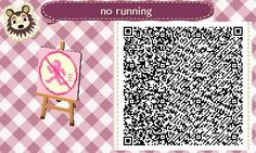 acnl no running sign - Google Search