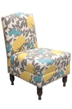 love this chair- the colors!