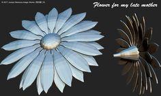 花~亡き母へ~(ZBrush)Flowers for my late mother by ZBrush