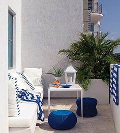 Peque�os balcones con estilo