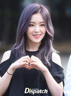 Irene Redvelvet Purple Hair