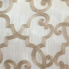 All Toffee Embroidered Home Decorating Fabric Our Price 44 98 Per Yard