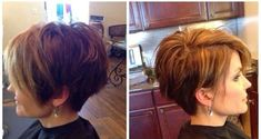 Cute longer looking pixie. The hair on the sides and the back is cut really short, around the ears and very close in the nape. While the top layers of the crown are razored into long layers for the disconnected or undercut look! Really cute haircut!