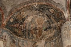 Rotunda of the church of St. Anne, near Uzhorod, Transcarpathian province of Ukraine. 14th or 15th century.