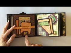 Graphic 45 An Eerie Tale Mini Album - YouTube My Sister's Scrapper