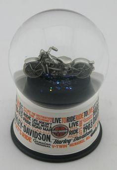 Harley Davidson Waterglobe