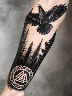 Sleeve and Hand Tattoos . Sleeve and Hand Tattoos . Pin by Samra Says On Tattoo Ideas 3 Viking Tattoo Sleeve, Viking Tattoo Symbol, Norse Tattoo, Viking Tattoos, Hand Tattoos Pictures, Picture Tattoos, Mom Tattoos, Tattoos For Guys, Sleeve Tattoos For Women