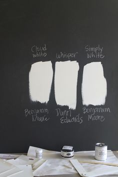 #BenjaminMoore_Cloud_White is the perfect color of white paint.