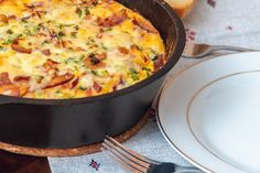 This protein filled breakfast frittata is the tastiest way to start your day.