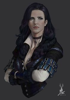 Yennefer of Vengerberg Fan Page The Witcher Game, Witcher Art, Witcher 3 Wild Hunt, Royal Princess, Character Portraits, Character Art, Character Ideas, Fantasy Characters, Female Characters