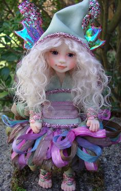 OOAK Fairy by J. Pollard https://www.facebook.com/pages/J-Pollard-Creations/268066609904064