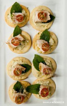 Hors d´ Oeuvres ITalian style  ww.chefdemoncoeur.com