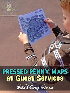 Pressed Pennies Souvenirs Disney