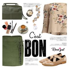 """""""ROSEGAL"""" by helenevlacho ❤ liked on Polyvore featuring Chanel and rosegal"""
