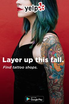 Perfect time to get a new coat of ink. Looking for classic black and white or bold and colorful? Whatever it is, download Yelp and find the best local tattoo artists with tons of great reviews.