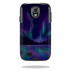 Skin Decal Sticker for Otterbox Commuter Samsung Galaxy S4 Case Aurora Borealis | eBay