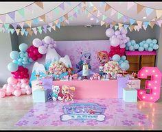 Paw Patrol Birthday Decorations, Paw Patrol Birthday Theme, 3rd Birthday Parties, 2nd Birthday, Fete Emma, Paw Patrol Cake, Birthday Backdrop, Ballon, Paw Patrol Skye