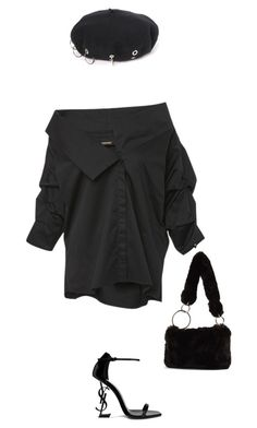 """Untitled #260"" by generation-of-fashion ❤ liked on Polyvore featuring Johanna Ortiz, Topshop and Yves Saint Laurent"