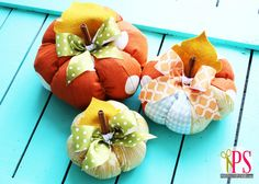 Yesterday, I shared a quick and easy tutorial for creating elegant, vintage-inspired decoupaged lace pumpkins that are absolutely perfect to punch up your Halloween decor. If you're in the market, though, for a pumpkin project that you can display throughout the fall season, today's tutorial–Plush Patchwork Pumpkins (try saying that three times fast!)–might be...Read More »