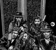 Bradstreet - Shadowrun - Ivy & Chrome - Ork Mercenaries
