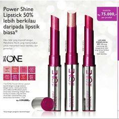 http://www.youtube.com/channel/UCqEqHuax3qm6eGA6K06_MmQ?sub_confirmation=1 Power Shine Lipstick HANYA Rp.75.000- 50% lebih berkilau daripada lipstik biasa (Diuji dengan pengukur kecemerlangan)  Lip kiss complex & SPF 12 yang melindungi dan menghidrasi bibir yang terasa lembut tampak lebih berkilau.  #oriflame #oriflamepalembang #makeup #lipstick #powershinelipstick #theone #kosmetik by senengdandan