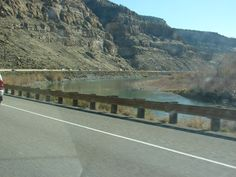 Heading West On I-70 Traveling Through The Eastern Region Of Colorado During A Trip To Utah. This Is Some Mountain Scenery Between Rifle, Colorado And Grand Junction, Colorado.This Is The Colorado River In A Canyon Just East Of Grand Junction, Colorado. Took Photo With A Sony DSC-H2 Camera On November 18, 2006.