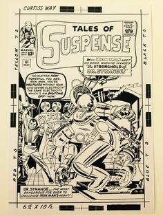 Original Comic Art titled tales of suspense # 41 / cover STAT , located in red's collectionneur Comic Art Gallery Marvel Comic Books, Comic Books Art, Marvel Comics, Book Art, Red Raven, Jack King, Tales Of Suspense, Comic Book Pages, Thing 1