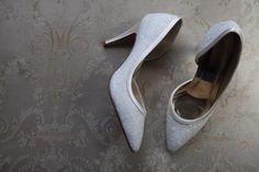 Chaussures Esme dentelle finement pailletées
